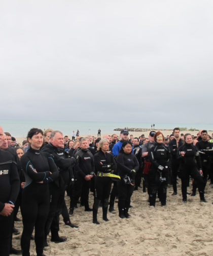 Guinness World Record Scuba Attempt – Rye Pier 2017