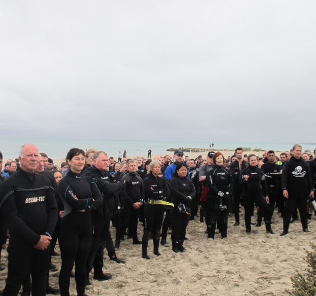 Guinness World Record Scuba Attempt - Rye Pier 2017