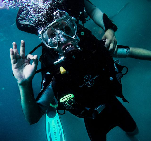 scuba diving world record